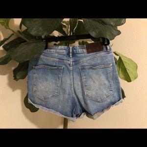 Zara Shorts - TRD Denim Zara light blue jean shorts Size 6